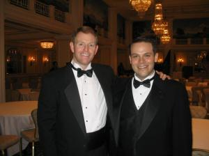 """This is with Tony Perkins, the President of the right wing Family Research council during Inauguration week of Bush's second term in 2005. I really thought I was living out my """"calling."""""""
