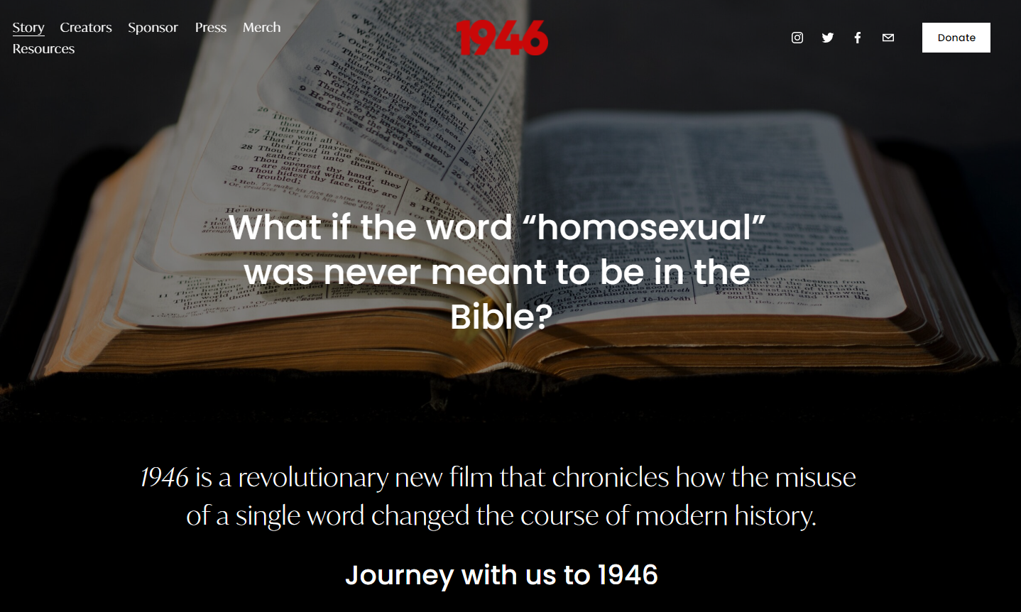 "What if the Word ""Homosexual"" Was Never Meant to Be in the Bible‪? – Pastor With No Answers Interviews Rocky Roggio (Podcast)"